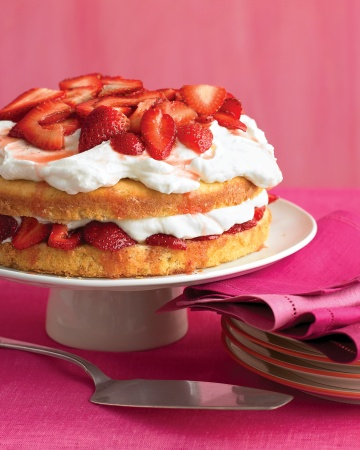 Strawberry Cream Cake - Martha Stewart